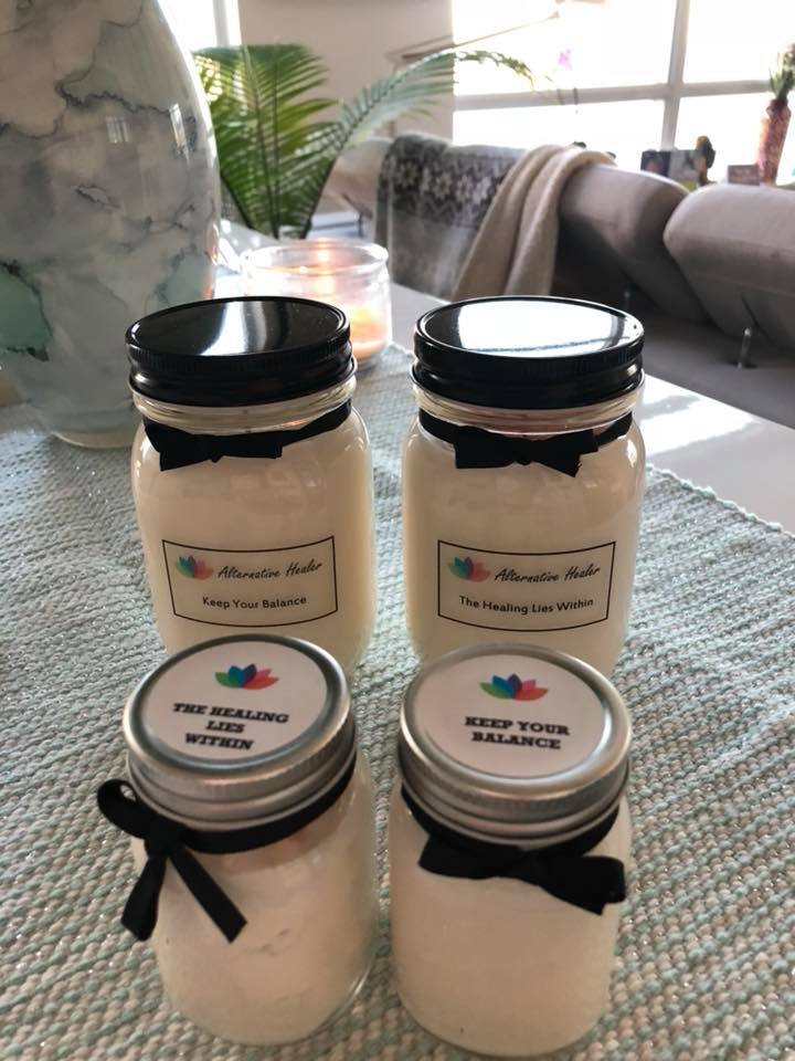 SOY ESSENTIAL OIL CANDLES