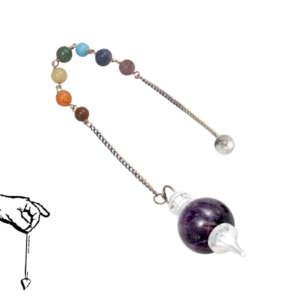 Chakra Pendulum (amethyst)