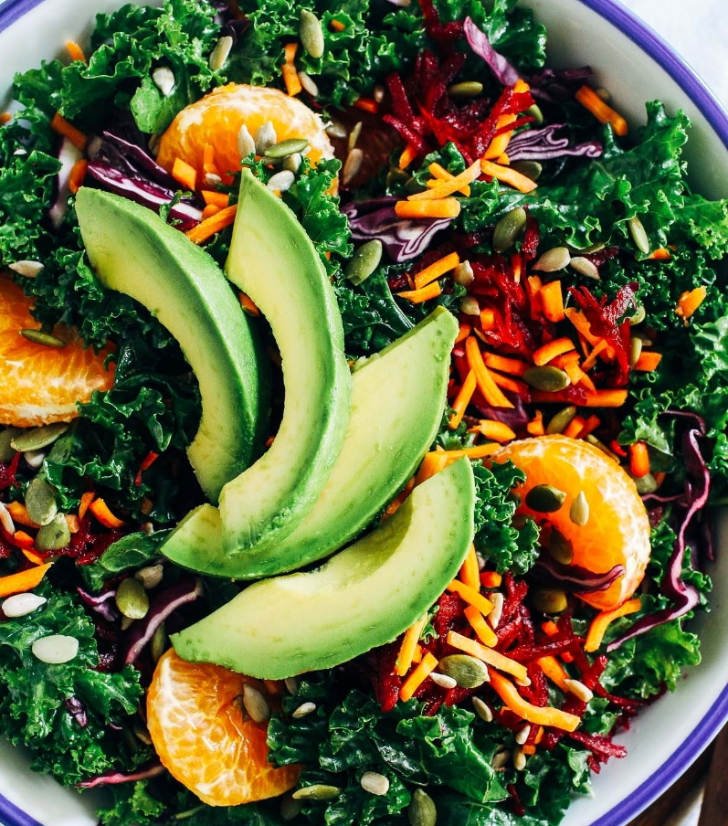 Kale Salad - alternative healing in Toronto