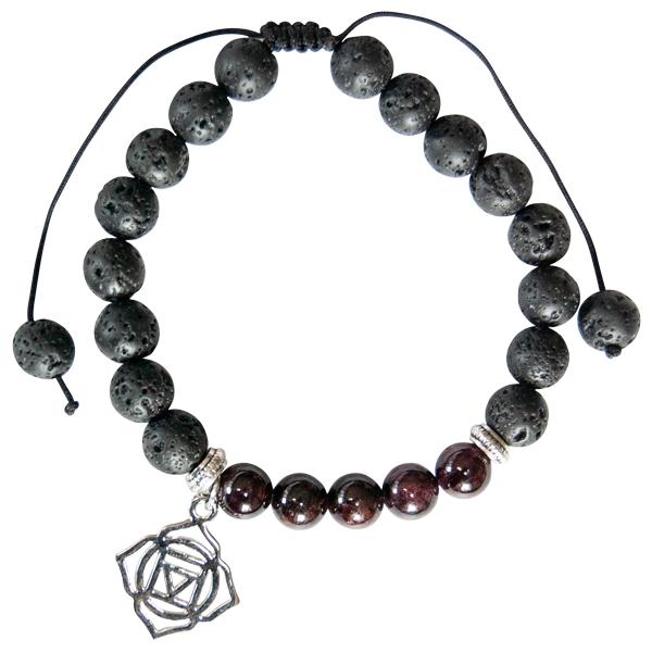 Garnet Chakra bracelet