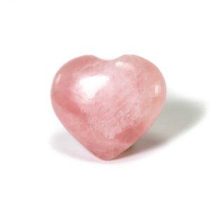 Rose quartz puffy heart - healing store in Toronto