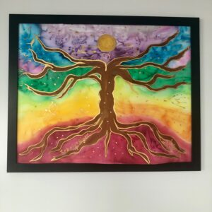 Tree of Life Chakra Painting - healing shop