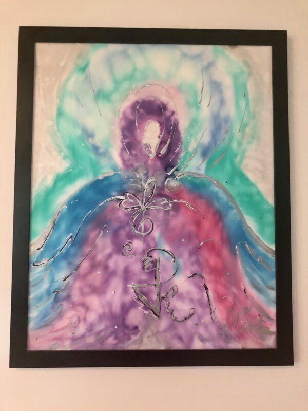 Healing Angel Painting - healing shop