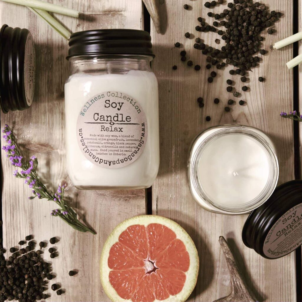 Soy candles - relax