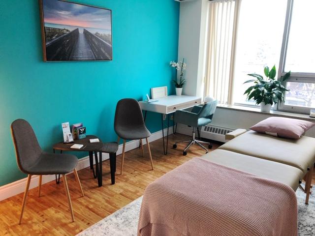 Alternative healing center - main room