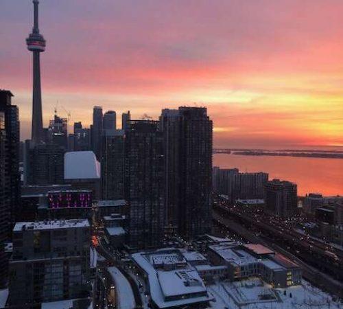 Alternative Healer Toronto view of CN tower